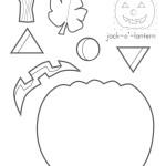 jack o lantern - stampa colora e ritaglia la zucca di halloween