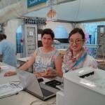 Scatti dalla Sagra Parrocchiale Villorba 2014 - volontari al banco