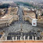 Roma-Veduta-dalla-Basilica-di-San-Pietro